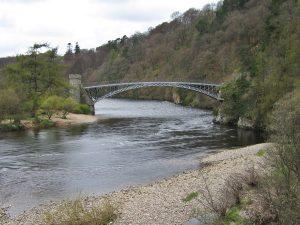 rieka Spey, Anglicko