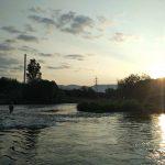 Západ slnka - začiatok rojenia