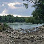 Letný Dunaj pod Devínom