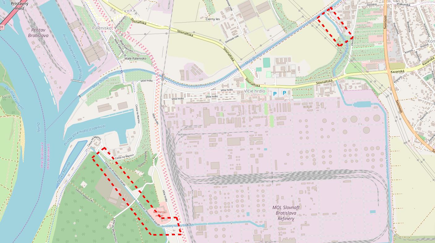 mapa fenoloveho potocika